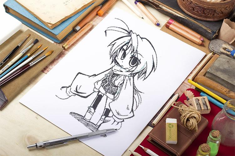 落書きから本番まで手軽な文具ボールペン4本を描き比べてみた