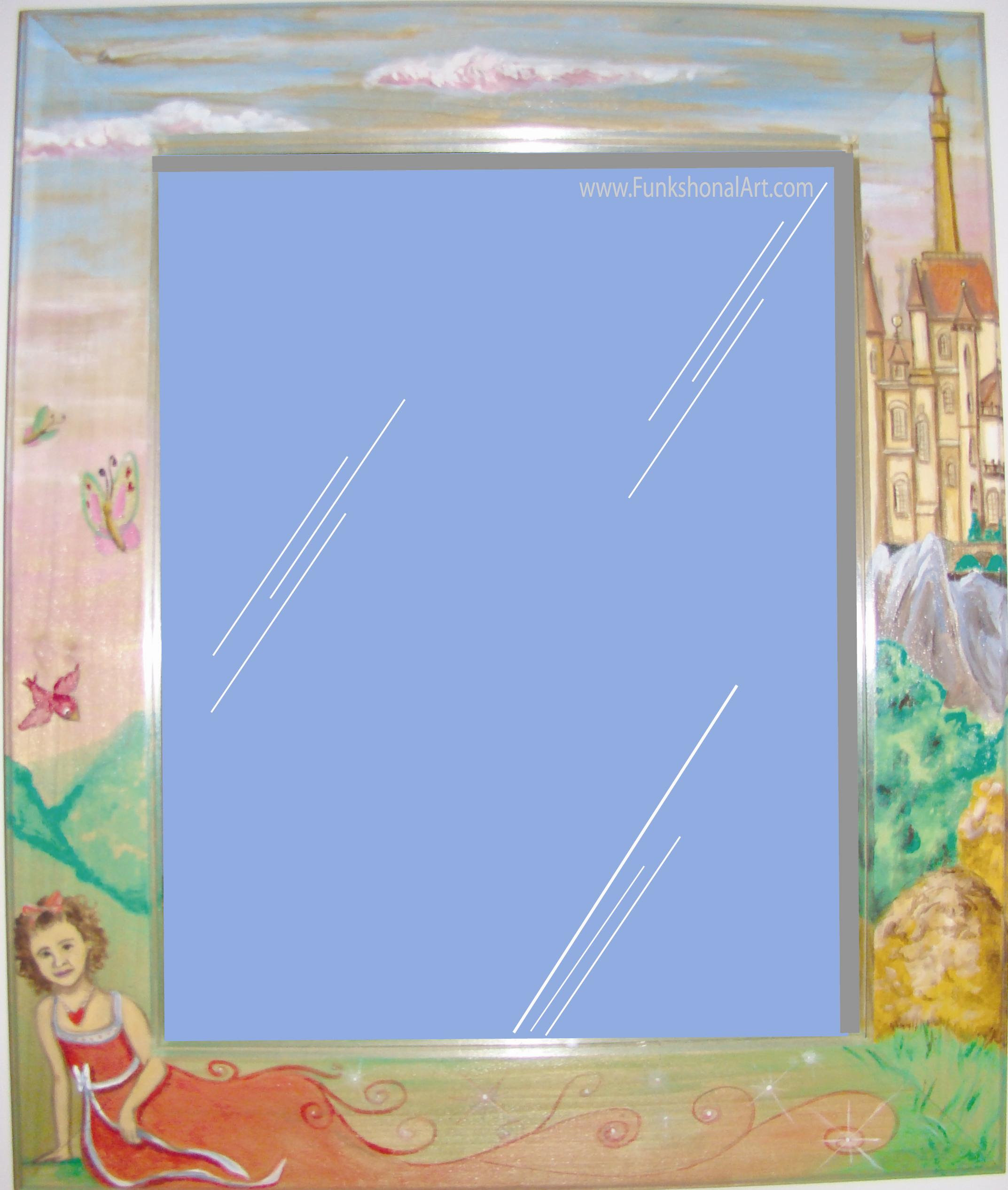 Kids Picture Frames And Framed Mirrors