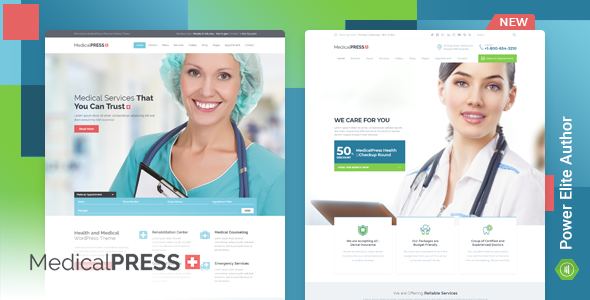 MedicalPress v3.0.0 - Health and Medical WordPress Theme