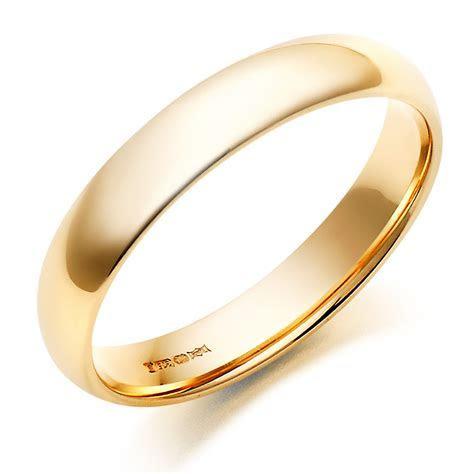 Men's 9ct Gold Wedding Ring   0005003   Beaverbrooks the