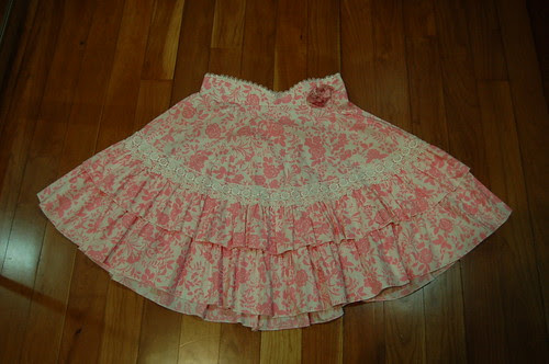 Lolita Closet Count! Skirts: Pink - In The Starlight Pink Roses