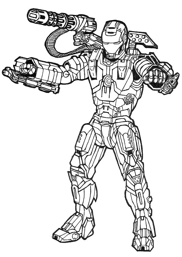 Battle Of Avengers Unite Coloring Page Free Coloring Pages Online