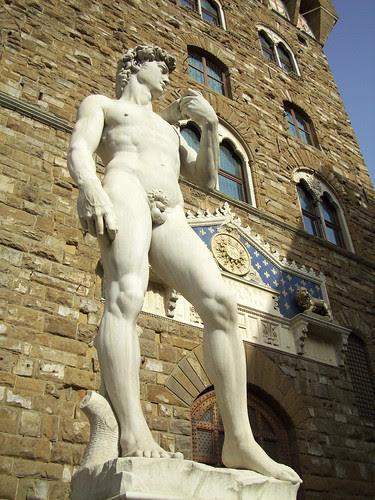 El David, Piazza della Signoria, Firenze, Italy, by jmhdezhdez
