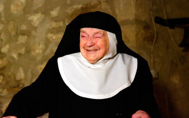 La monja Sor Teresita que más tiempo lleva de clausura en el mundo. | J.G.