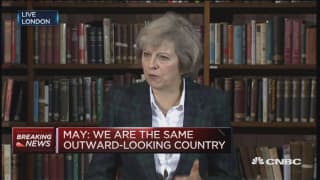 'Brexit means Brexit': Theresa May