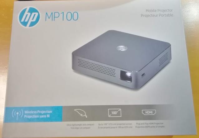 HPモバイルプロジェクターMP100