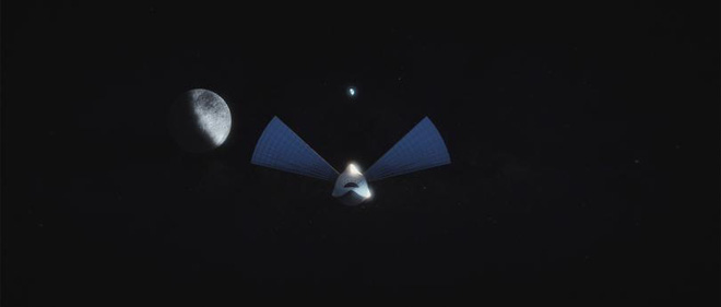 Các ăngten năng lượng mặt trời sẽ được sử dụng ngay khi phi thuyền rời quỹ đạo để đi tới Sao Hỏa