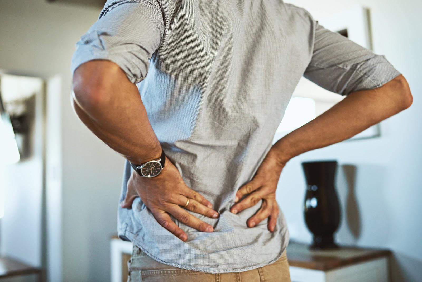 Having good posture is vital for confident body language.