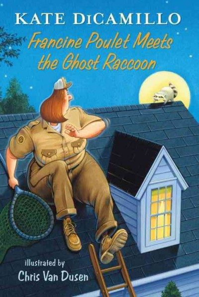 Francine Poulet Meets the Ghost Raccoon book cover