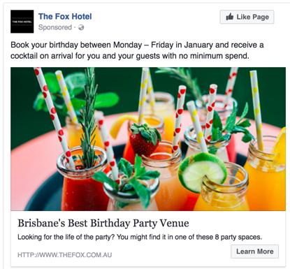 example of afcebook ad in Kenya