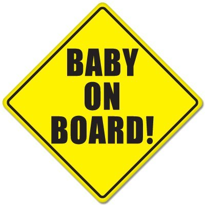 Baby On Board Sign Car Stickers