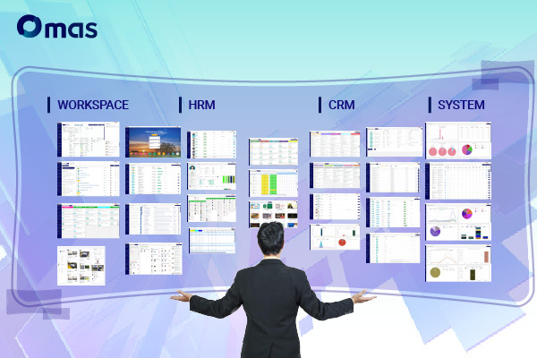 Phần mềm quản lý doanh nghiệp tổng thể Omas