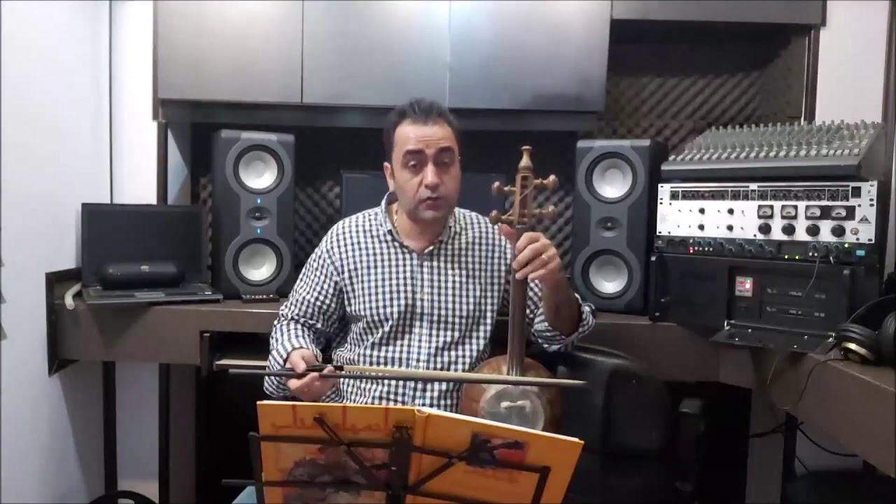 گل گلدون ایمان ملکی کمانچه