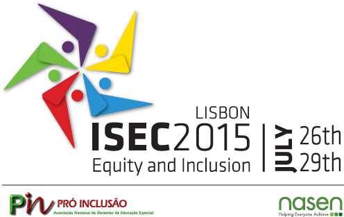Inclusive and Supportive Educational Congress - Lisbon - 26-29 July 2015 - Newsletter