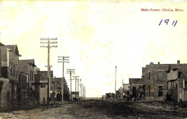 Chokio MN, 1911