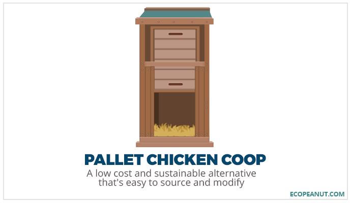 pallet chicken coop graphic