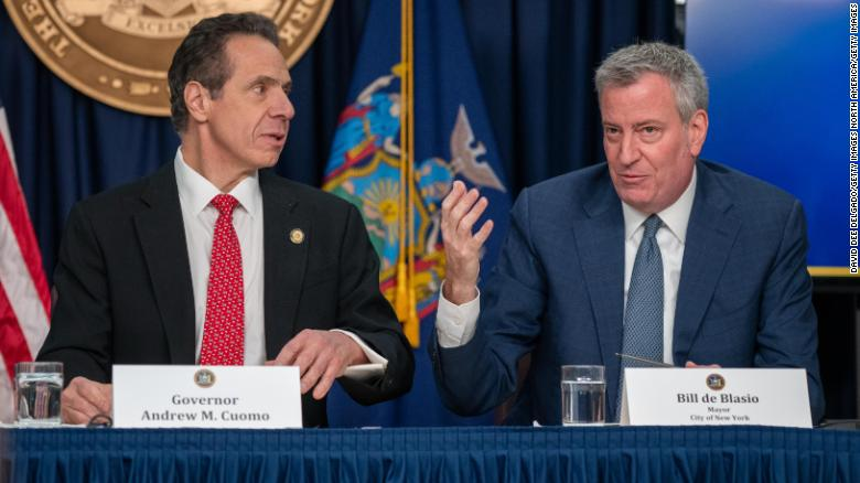 Cuomo and de Blasio can't put their feud aside -- even for ...