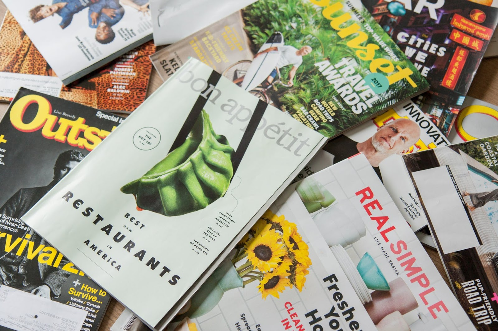 new media content model magazines