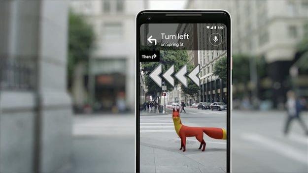 google maps realidade aumentada