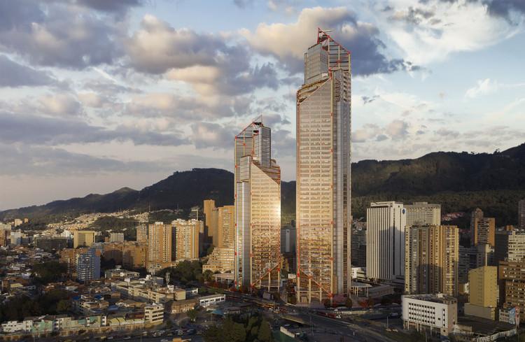 Atrio Towers. Image Courtesy of Rogers Stirk Harbor + Partners + The Mazzanti Team