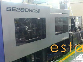 Sumitomo SE280HDZ-C560 HP (2013) All Electric Plastic Injection Moulding Machine