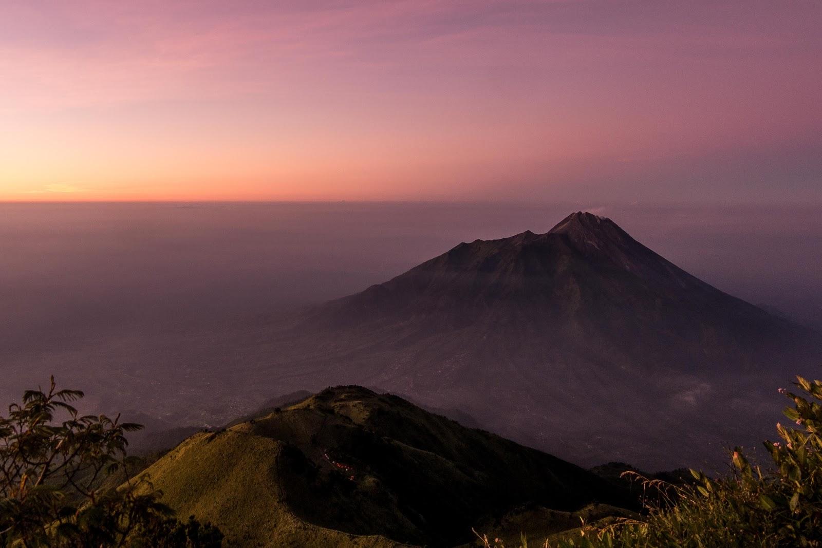 gunung merbabu wisata jawa tengah