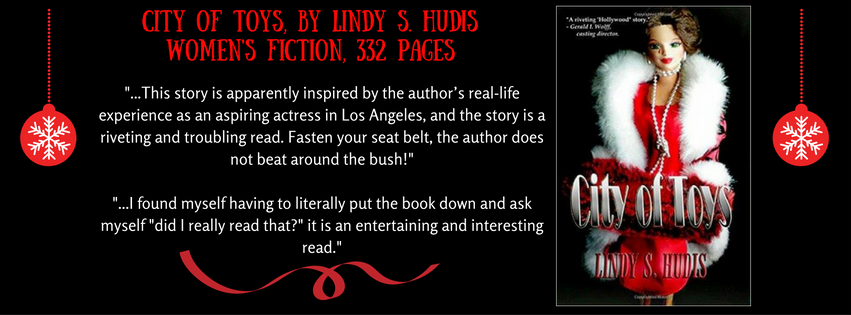 CITY OF TOYS, by Lindy S. HudisWomen's Fiction, 332 pages.png