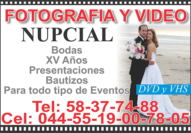 FOTO Y VIDEO NUPCIAL