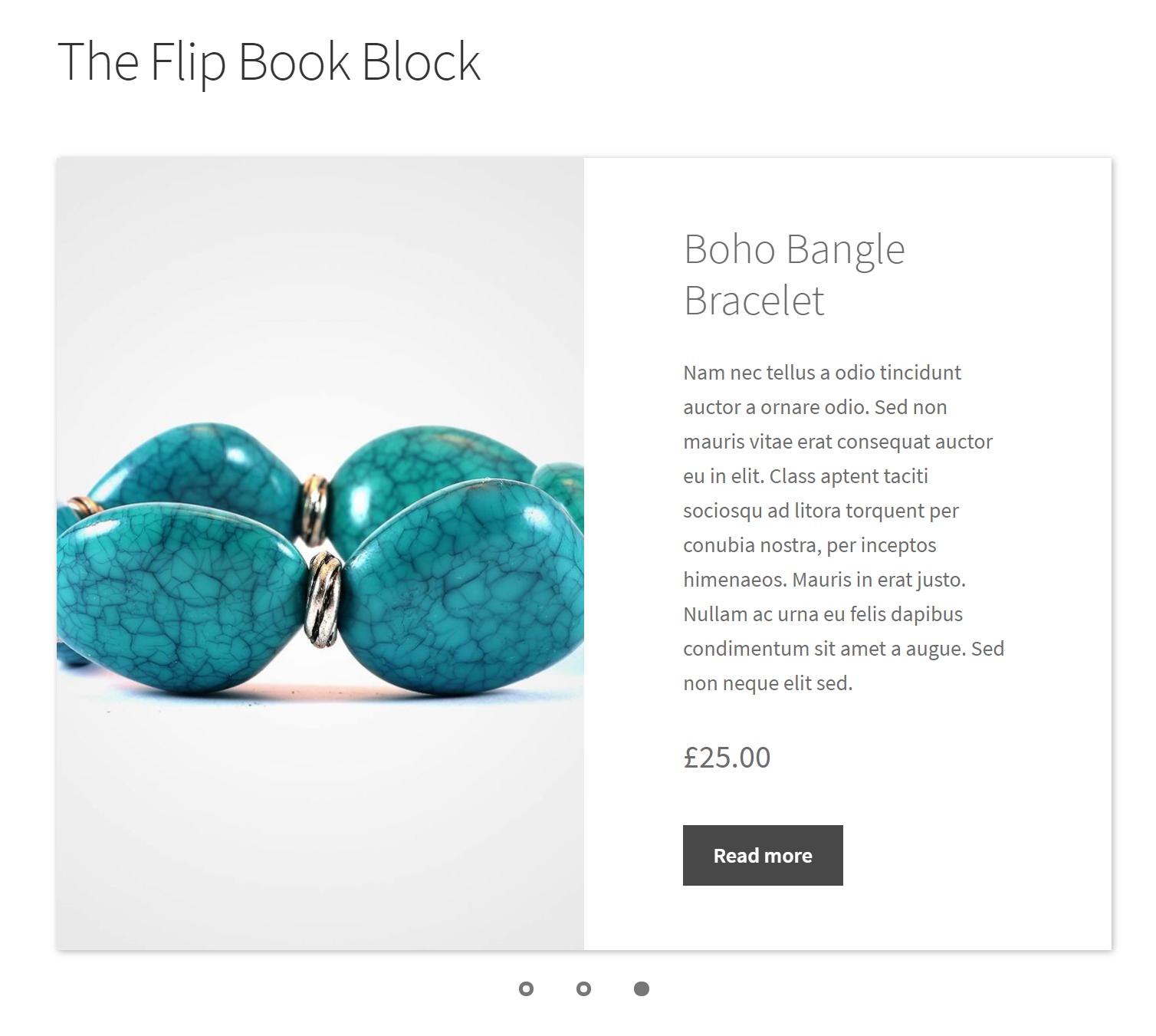 Flip Book Block
