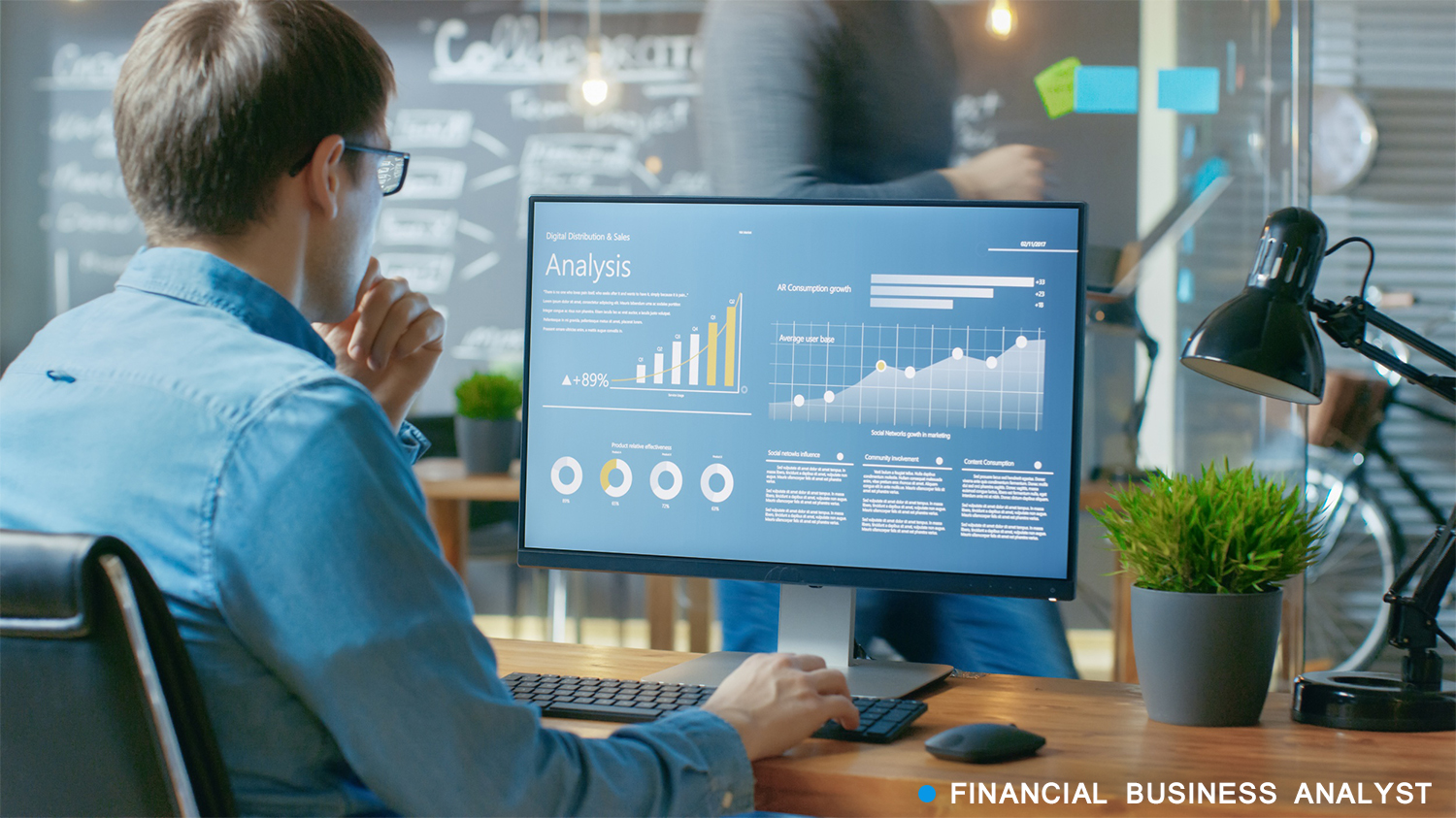financial business analyst: an idea with low investment