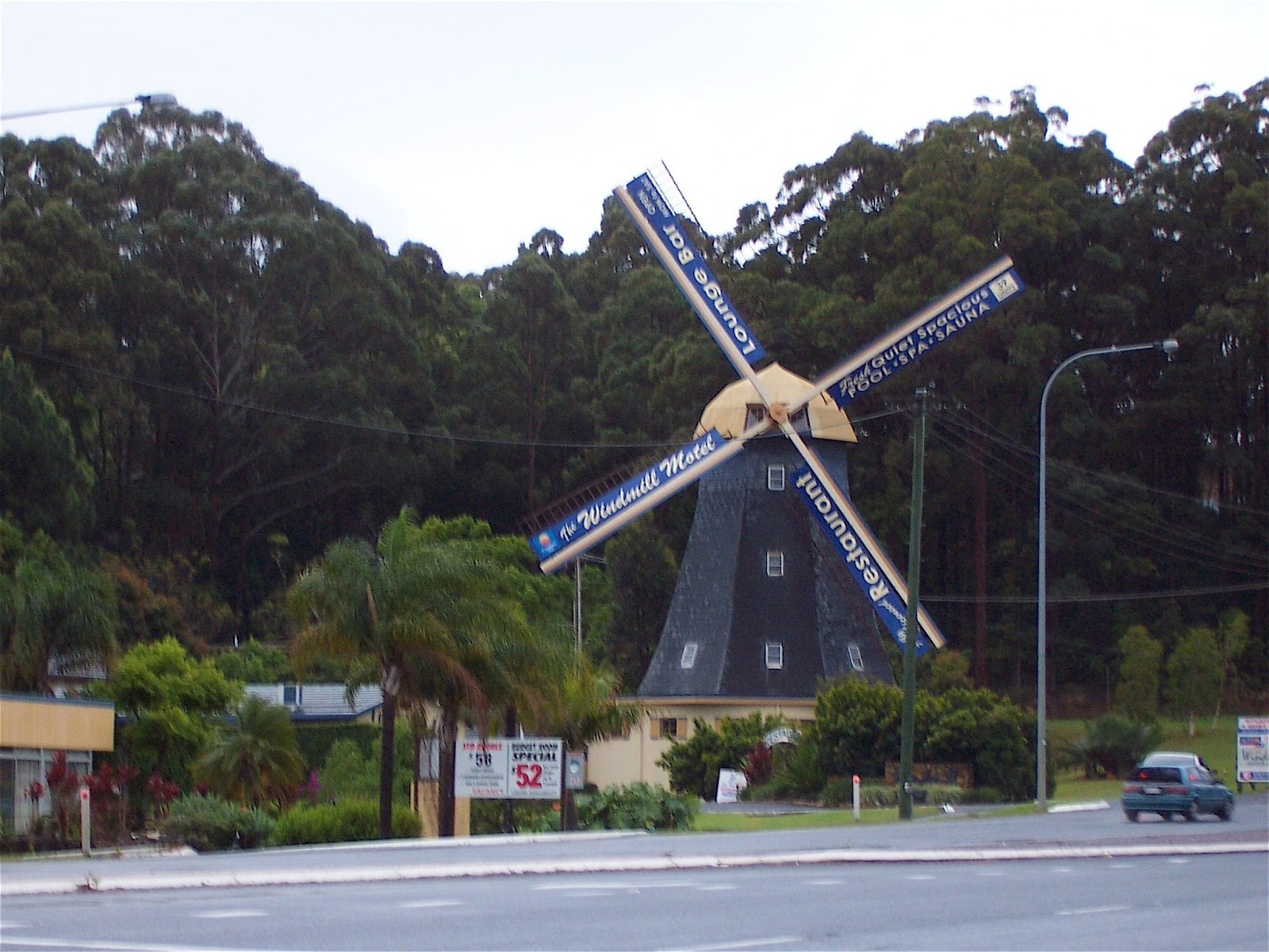 The big windmill motel in coffs harbour
