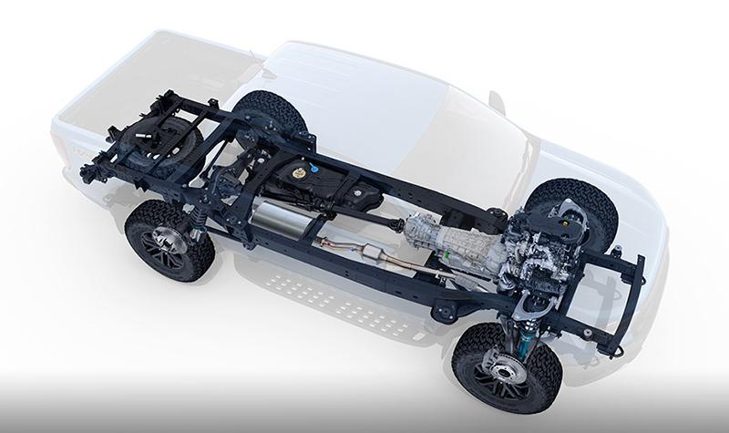 จุดเด่นของรถยนต์ : Ford Ranger Raptor X