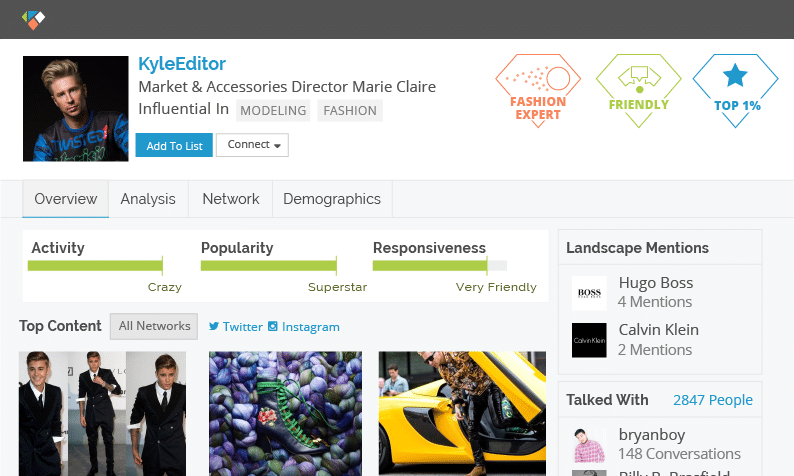 Klear - Find Social Media Influencers in your area