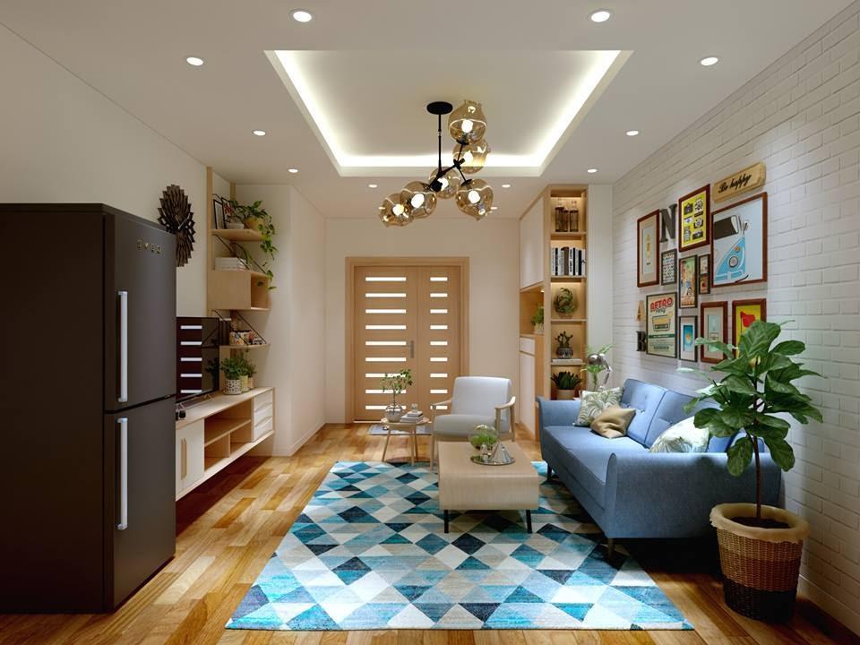 Kết quả hình ảnh cho thiết kế nội thất chung cư 70m2