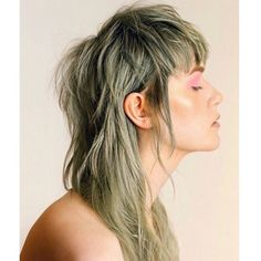 female fashion mullet