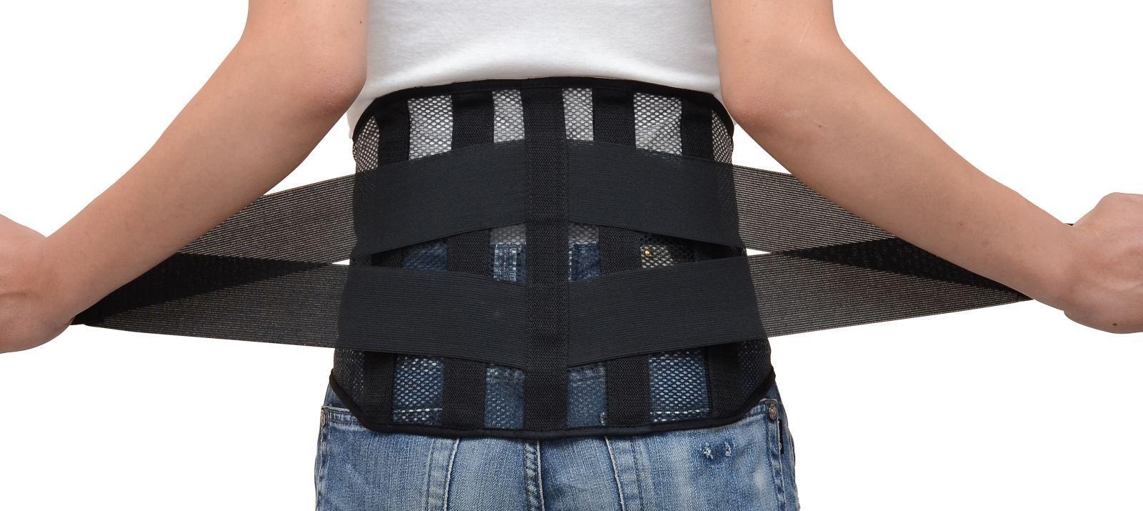 Đeo đai lưng chữa đau lưng