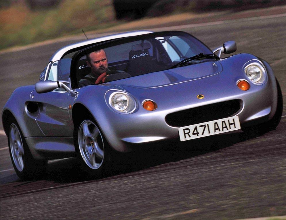 S1 Lotus Elise Cornering