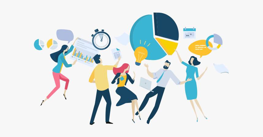 Illustration of team alignment