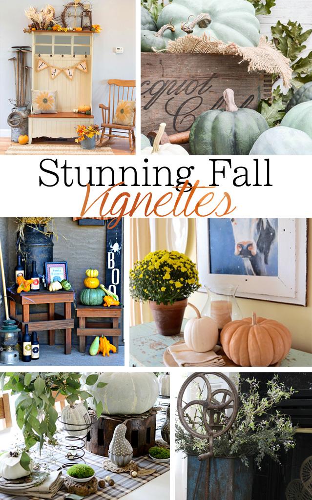Stunning Fall Vignettes