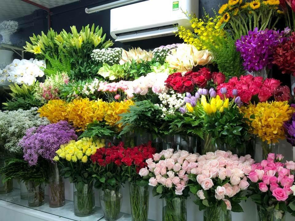 Kết quả hình ảnh cho cửa hàng hoa tươi