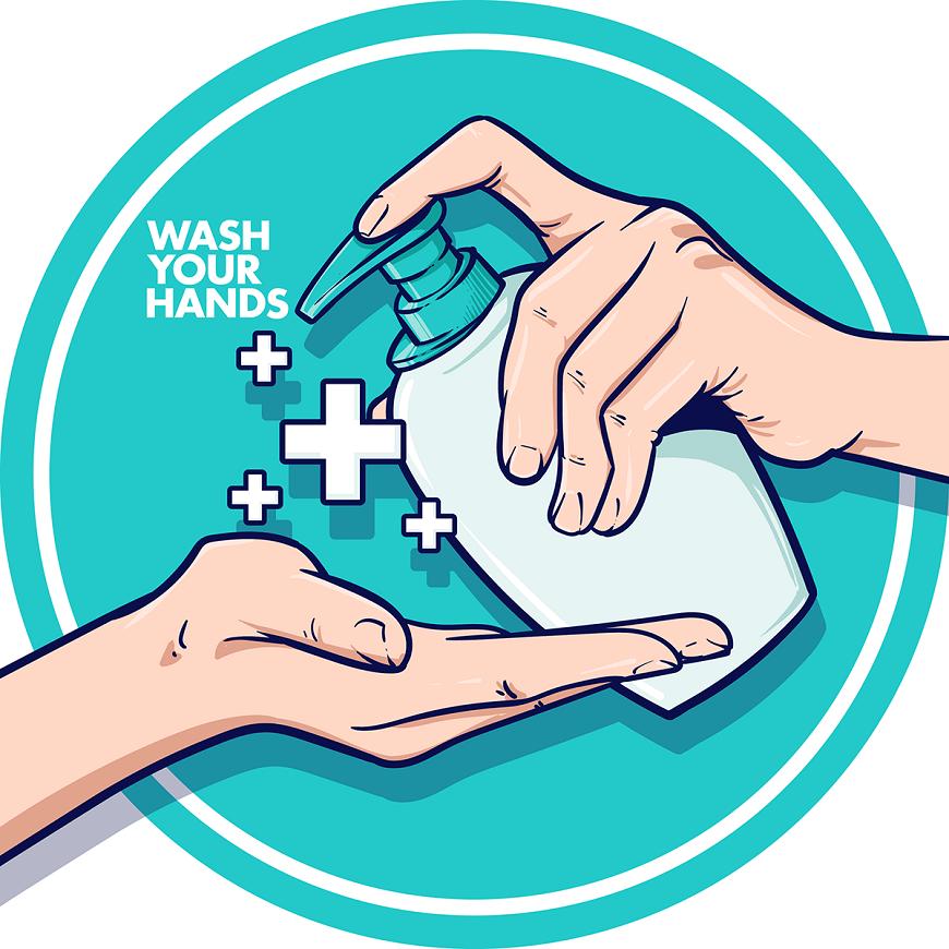 Rửa tay bằng nước rửa tay khô