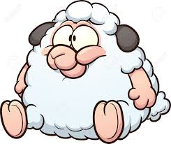 Image result for sheep jumping over the moon clip art