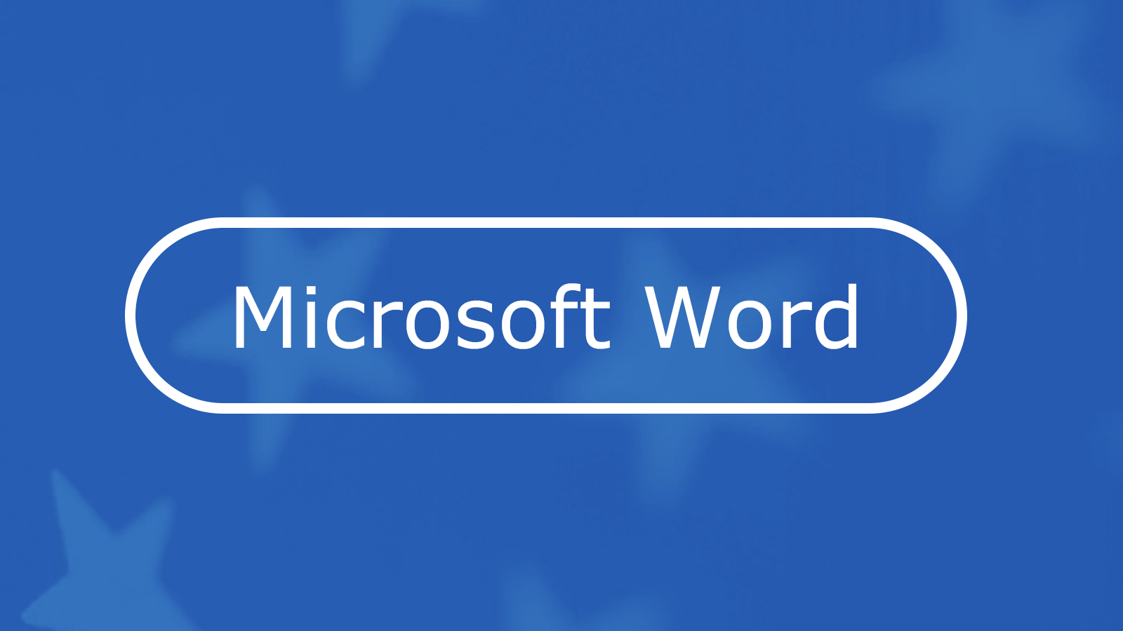 How to Make an Accessible Document in Microsoft Word