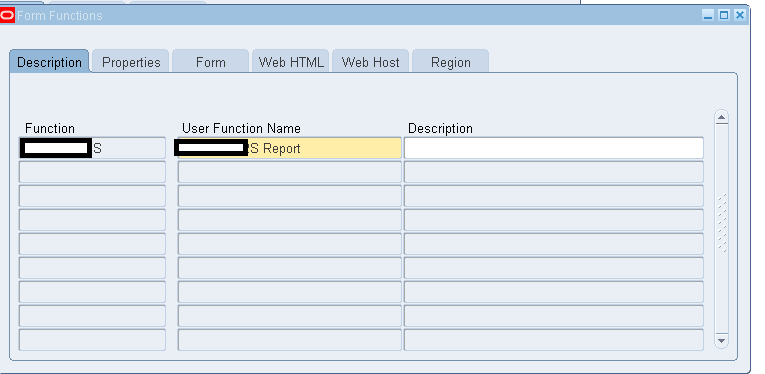 Oracle Apps KT: Adding report in the menu as a function R12