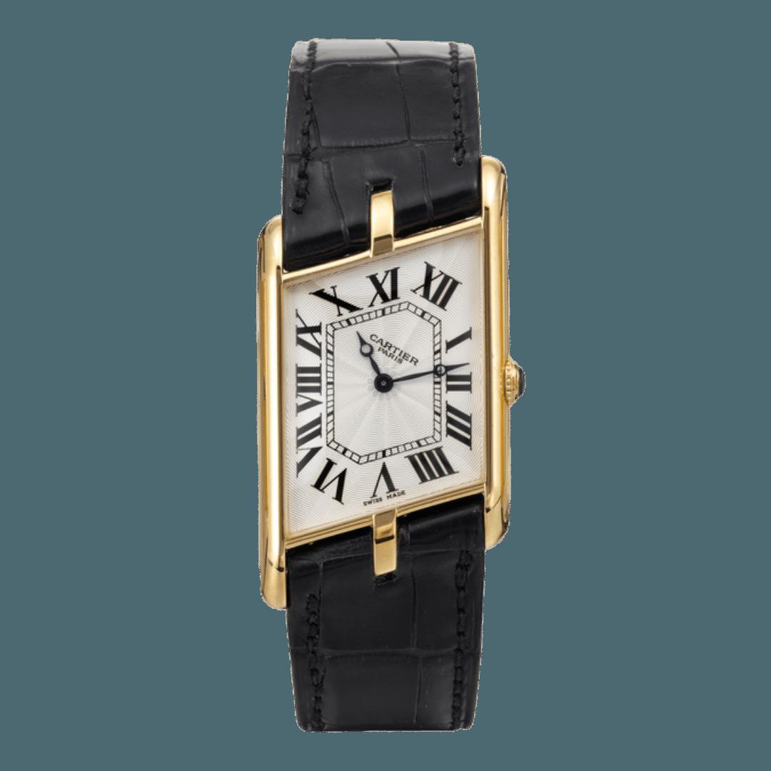 Photo of a Cartier Tank Asymétrique watch