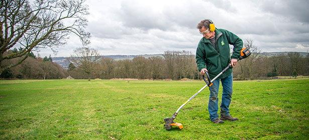 How to use a strimmer as a professional