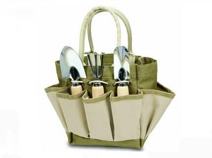 Bag for carrying gardening equipment