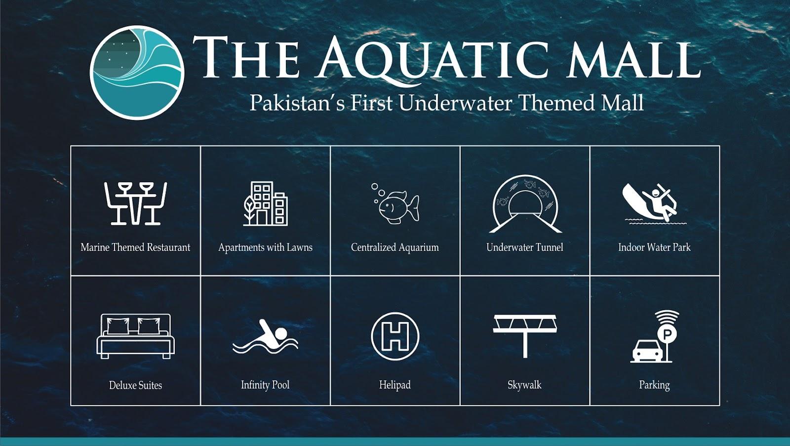 Aquatic-mall-features-list