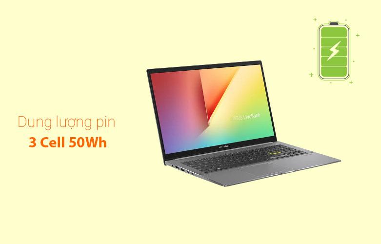 Laptop Asus Vivobook S533EA-BN293T   Dung lượng pin cao