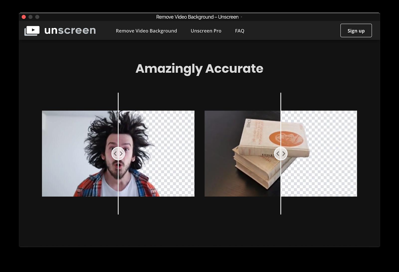 Как удалить фон из видео - Unscreen